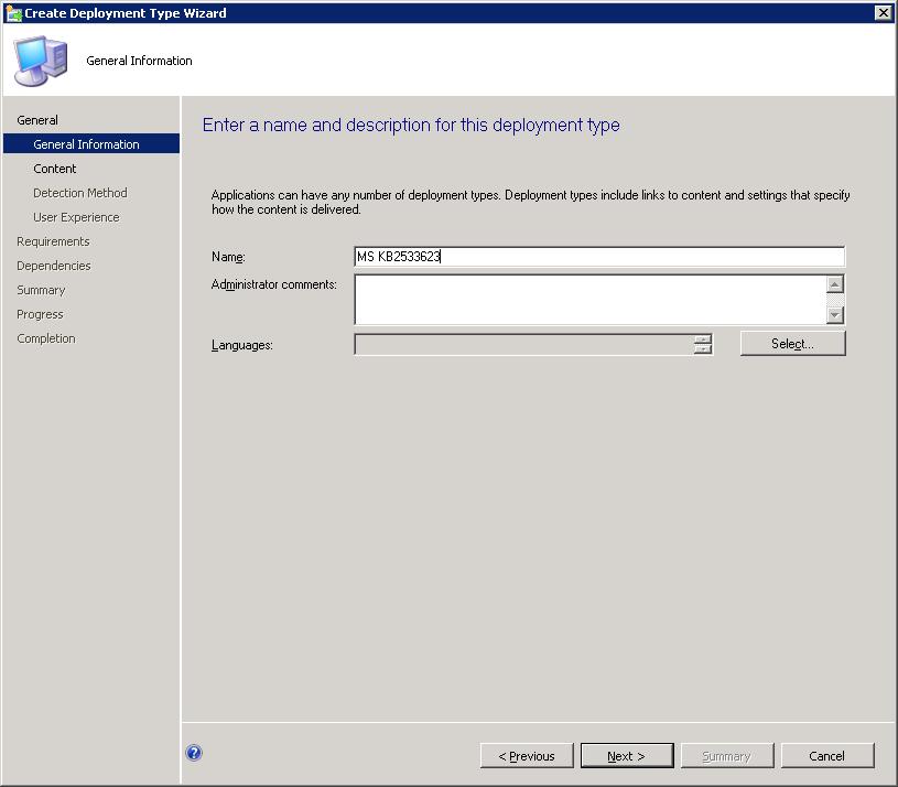 Deploying  exe files via SCCM 2012 – SCCMentor – Paul Winstanley
