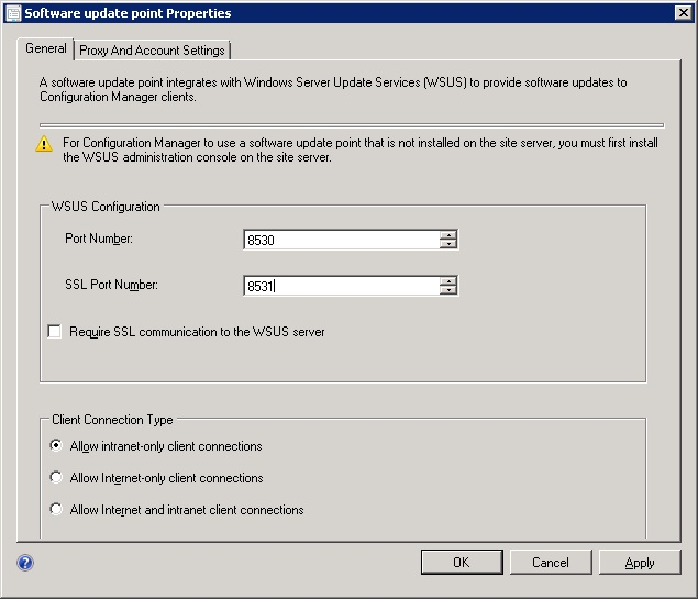 SCCM 2012 SP1 resets WSUS port to 80 – SCCMentor – Paul