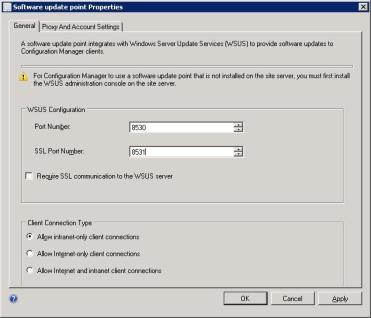 SCCM 2012 SP1 Resets WSUS Port To 80
