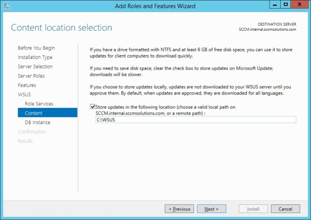 SCCM 1511 – Step by Step Installation Guide – SCCMentor – Paul