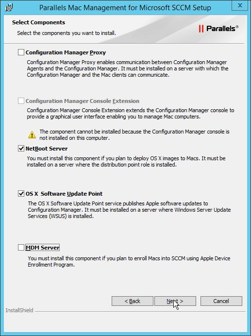Parallels Mac Management for SCCM – Part 3 – NetBoot Server & OS X