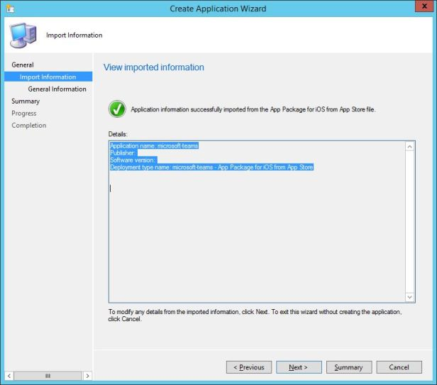 Deploying Microsoft Teams to iOS MDM devices via hybrid Intune