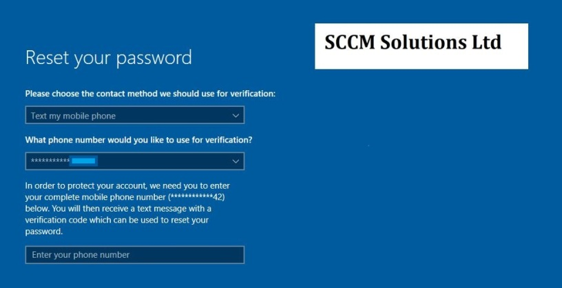 Keep it Simple with Intune – #1 Enable password reset for