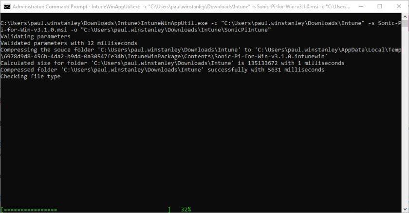 2019-02-17 22_31_14-Administrator_ Command Prompt - IntuneWinAppUtil.exe  -c _C__Users_paul.winstanl.jpg